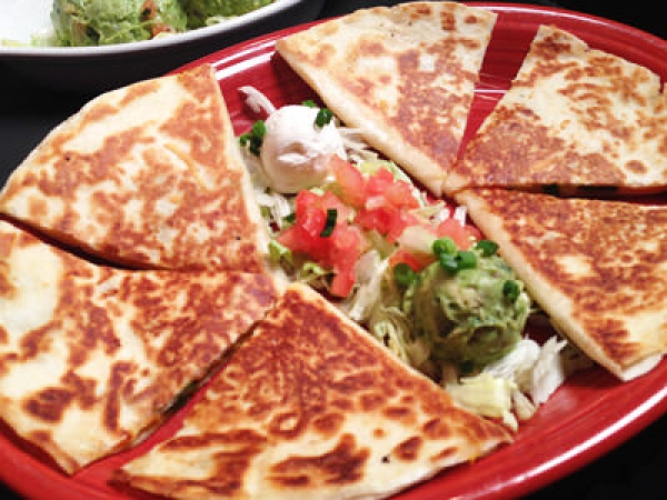 Fajita Chicken Quesadillas