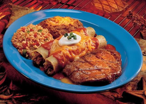 Prairie Fire Steak & Enchiladas