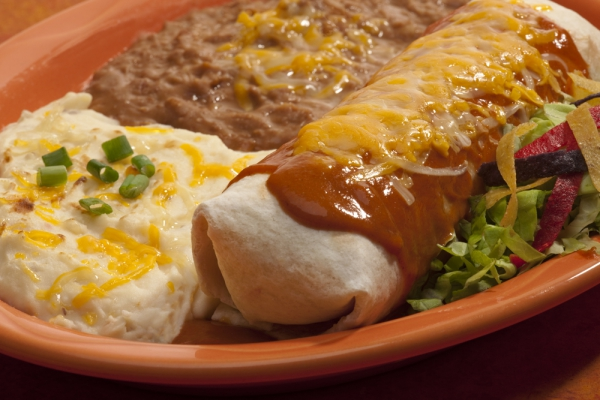 Smothered Burrito Dinners